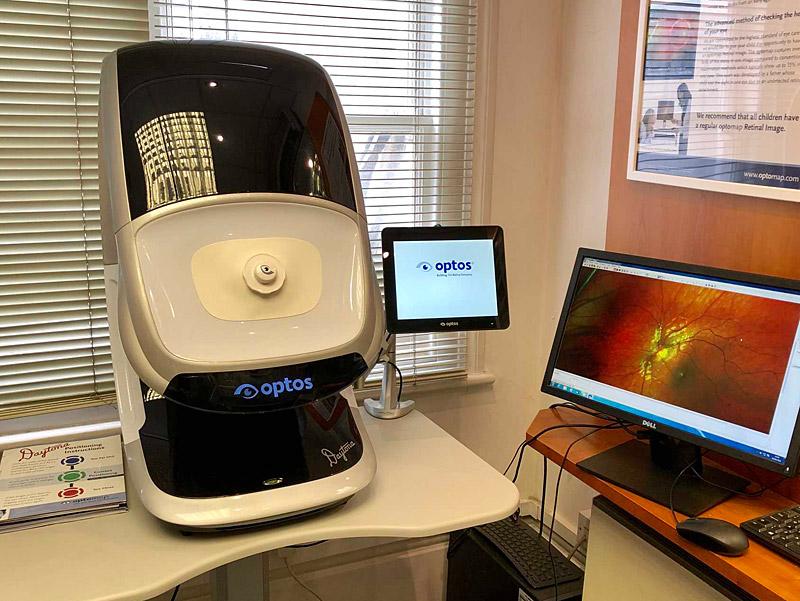 Daytona Retinal Scanner